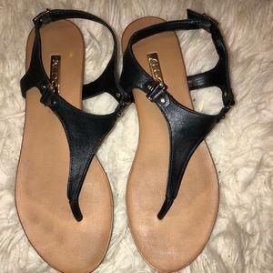 Aldo Black Sandals